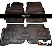 Коврики полиуретановые для FAW V 5 2012- (Avto-Gumm)