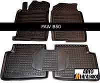 Коврики полиуретановые для FAW  B 50 2009- (Avto-Gumm)