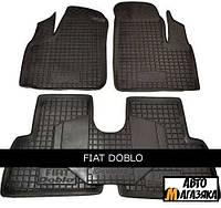 Коврики полиуретановые для Fiat Doblo (2001-2009) (Avto-Gumm)