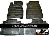 Коврики полиуретановые для Great Wall Hover H6 (Avto-Gumm) 2011