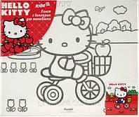 Холст для рисования Hello Kitty (Хелло Китти) 25х25 см