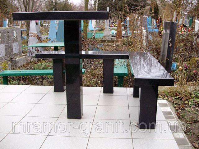 Стол и лавочки СЛВ - 15