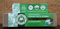 Зубная паста Кедровая Агафья - для здоровья зубов, 75 мл.