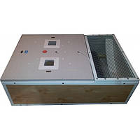 Брудер+инкубатор 2 в 1 в корпусе БРУДЕРА с ТЭНОМ и Автоматическим переворотом яиц