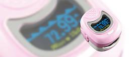 Пульсоксиметр CMS 50 QB  двухцветный с LED дисплеем для детей CONTEC