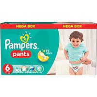 Трусики-подгузники Pampers Pants 6 (16+ кг.) 88 шт