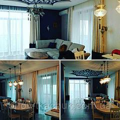 Пошив штор в гостиную