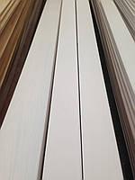 Плинтус белый деревянный Модерн 100 мм 10 см