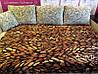 Плед евро Шлифовка штрихи