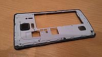Средняя часть корпуса с динамиком Samsung N910 Galaxy Note 4 оригинал с разборки