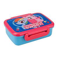 Бутербродница ланчбокс kite lp17-160 little pony для девочки