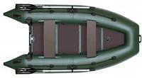 Моторно-гребная надувная килевая лодка Колибри КМ-300DL Лайт