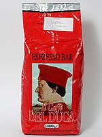 Кофе в зернах Del Duca Espresso Bar 1кг зерновой кава 70% Арабика и 30% Робуста