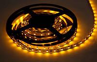 Стрічка LED 3528, 12V / 5 метрів, в силіконі. Жовта