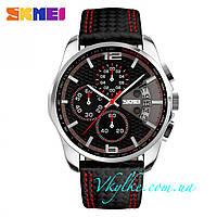 Часы SKMEI 9106 Spider черные с красным
