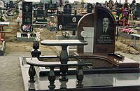 Столик и скамейка