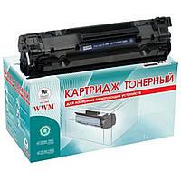 Картридж WWM для HP LJ P1505/M1120/1522 (LC36N)