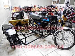 Боковая коляска к мопеду прицеп Альфа и Дельта