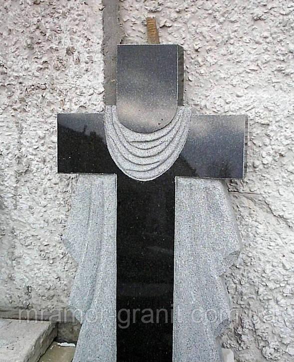 Крест из гранита СЛВ - 91