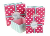 Небольшие коробочки для романтических подарков. (2 размера)