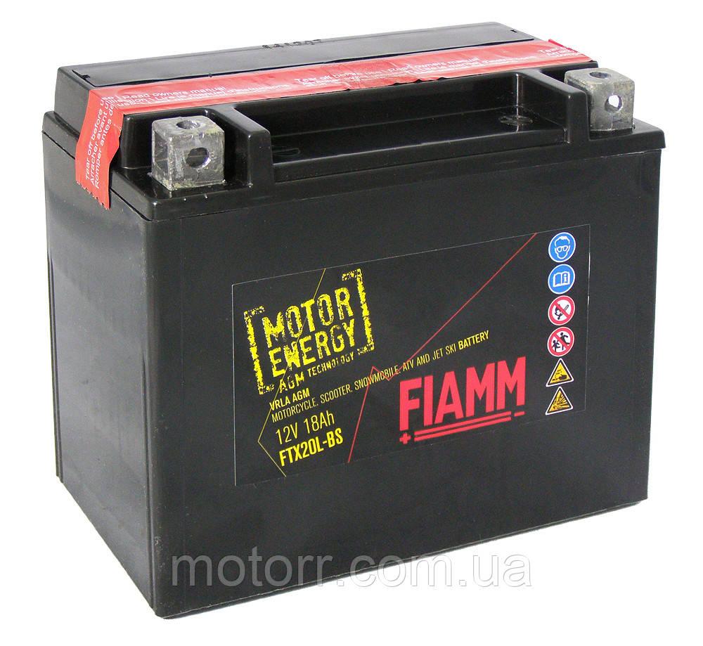 Аккумулятор Fiamm FTX20L-BS