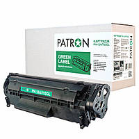 Картридж PATRON HP LJ Q2612A/CANON 703 GREEN Label (PN-12A/703GL)