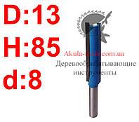 D13 H85 d8 прямая пазовая фреза Karnasch