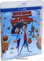 3D-фильм: Облачно, Возможны осадки в виде фрикаделек (Real 3D Blu-Ray) США(2009)