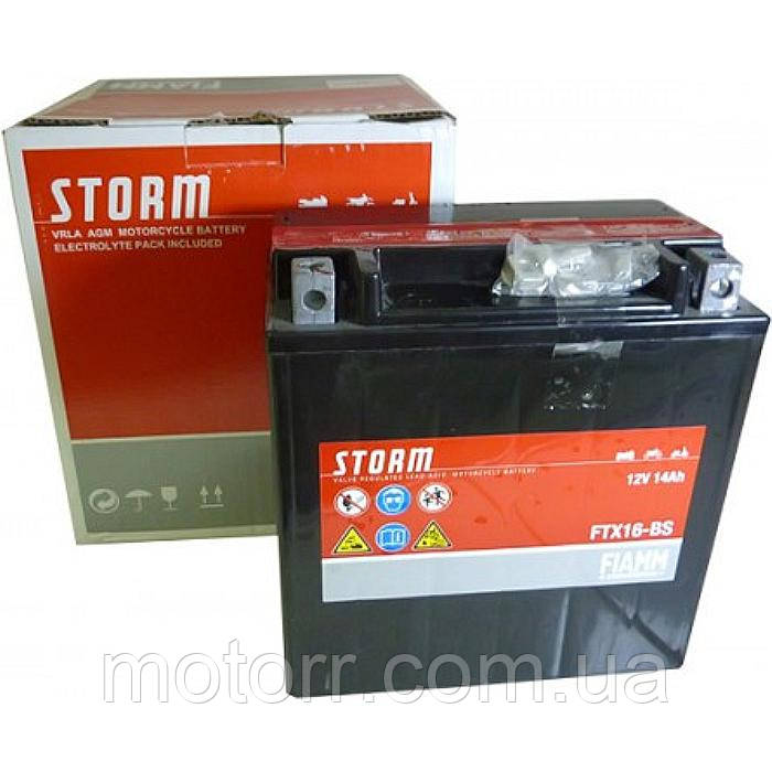 Аккумулятор Fiamm FTX16-BS