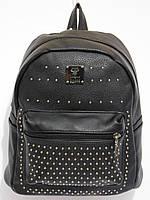 Рюкзак кож.зам.карманчик цвет черный, фото 1