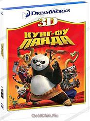 3D-фільм Кунг-Фу Панда (Real 3D Blu-Ray) США (2008)