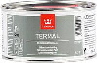 Краска для термостойких покрытий Termal Tikkurila +600 серебристая  0,33 л.