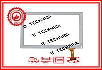 Тачскрин 251x147mm 50pin XC-PG1010-016-A1-F БЕЛЫЙ