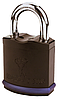 Висячий замок підвищеної безпеки MUL-T-LOCK® E14-L (висота дужки 57 мм)