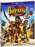 3D-фильм: Пираты: Банда неудачников (Real 3D Blu-Ray) США, Великобритания (2012)