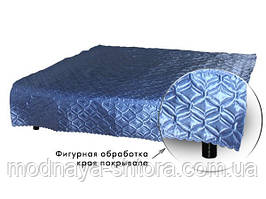 """Покрывало на кровать атласное """"Атлас"""" 145х220 см (разные цвета)"""