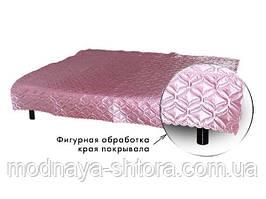 """Покрывало на кровать атласное """"Атлас"""" 180х220 см (разные цвета)"""