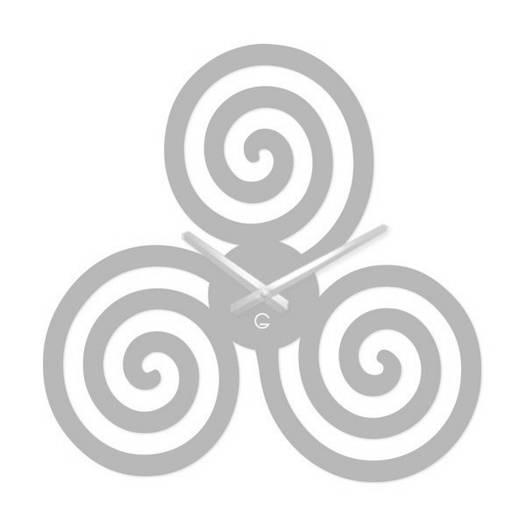 Большие Часы На Стену (49смх49см) Infinity Белые [Акрил, Открытые]