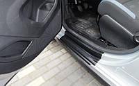 Citroen Berlingo 2008+ / Peugeot Partner 2008+ накладки дверных проемов защитные полиуретановая