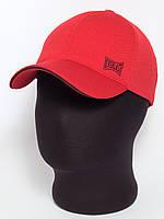 """Красная бейсболка """"Everlast"""" с черным кантом лакоста шестиклинка"""