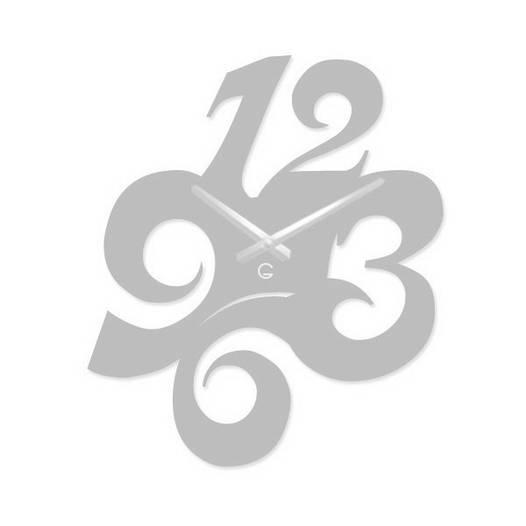 Часы На Стену (41смх33см) Figures Белые [Акрил, Открытые]