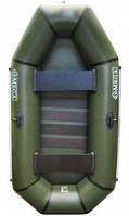 Надувная Лодка дельта ПВХ Омега 240 Хаки двухместная(Без слани)