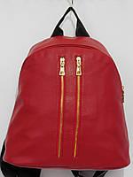 Рюкзак две змейки бордовый, фото 1