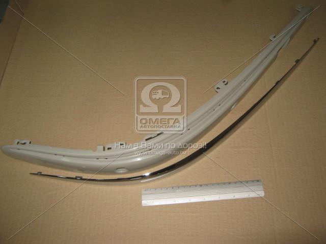 Накладка бампера переднего правая MERCEDES 211 (Мерседес 211) 2002-06 (пр-во TEMPEST)