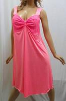 Ночная рубашка женская с красивым лифом 48-56р-р.