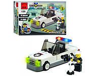 Конструктор BRICK 457798/125 полицейская машинка