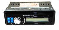 Магнитола автомобильная Pioneer 1098 (съемная панель+USB флешка+SD карты памяти+AUX+FM (4x50W)