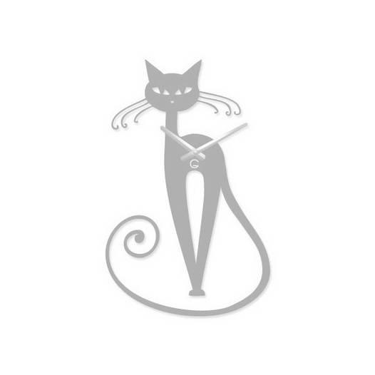 Часы На Стену (56см х 33см) Elegant Белые [Акрил, Открытые]