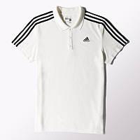 Мужская футболка Adidas Sport Essentials 3-Stripes Polo Shirt (Артикул: S17667)