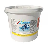 Химия для бассейна Активный кислород Delphin 5 кг в таблетках 200 гр